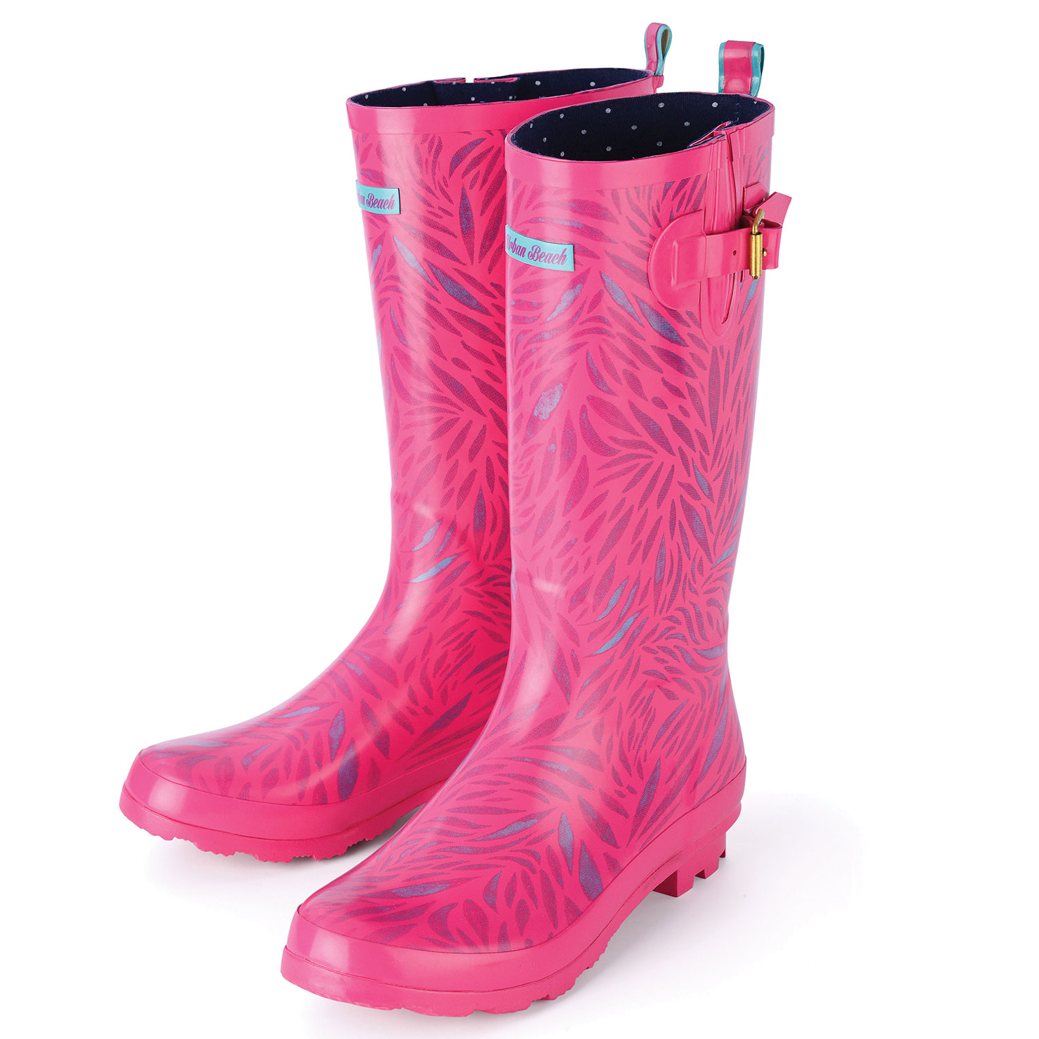 Product Features thick, warm socks or liners as these wellies run a half size large.